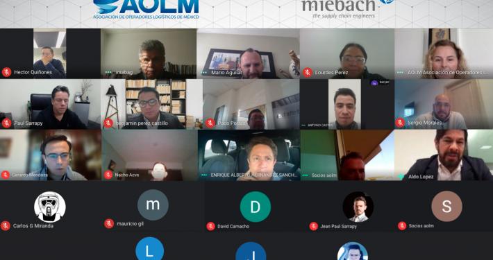 AOLM Reunión de Socios con Miebach