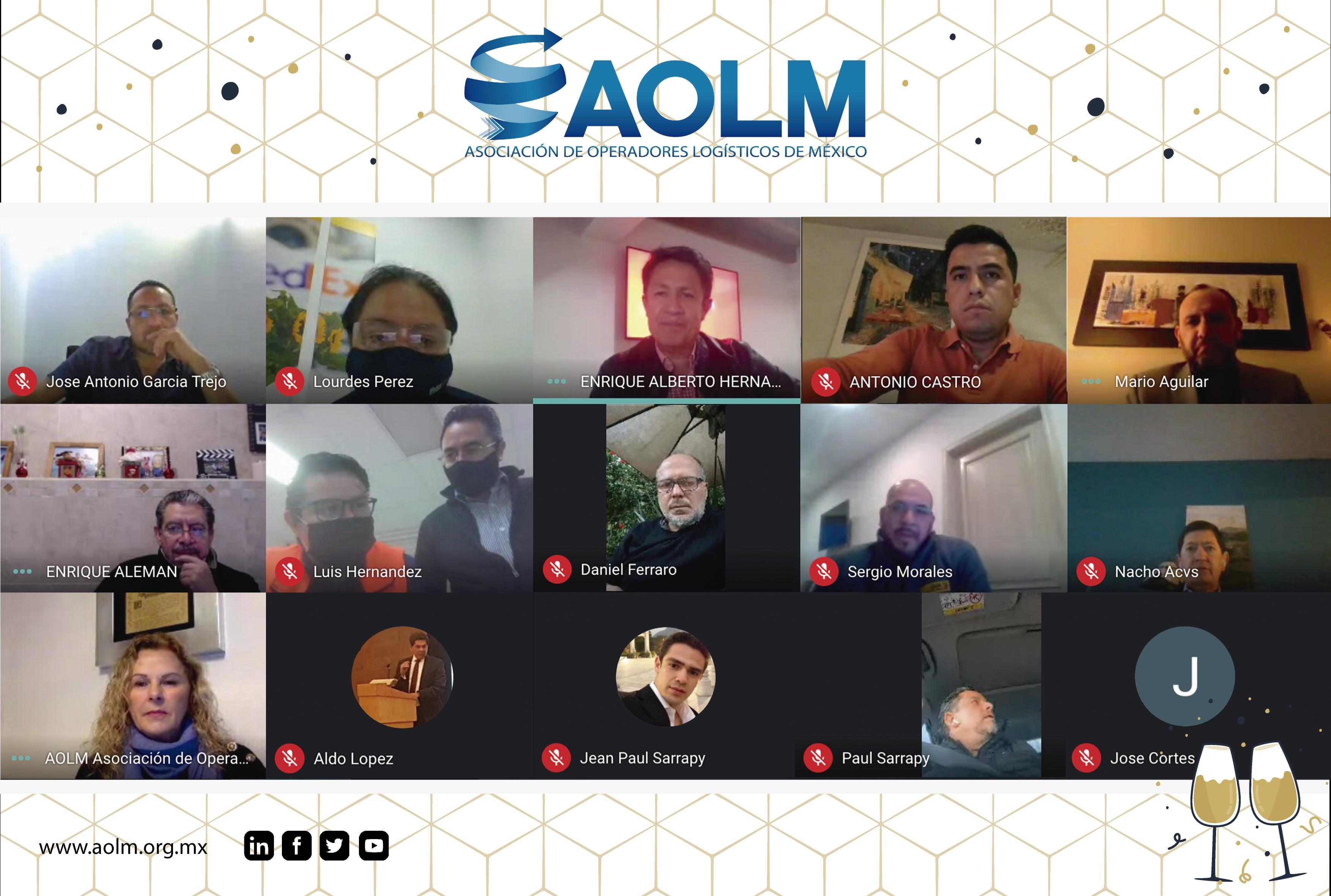 AOLM Brindis de Socios AOLM 2020