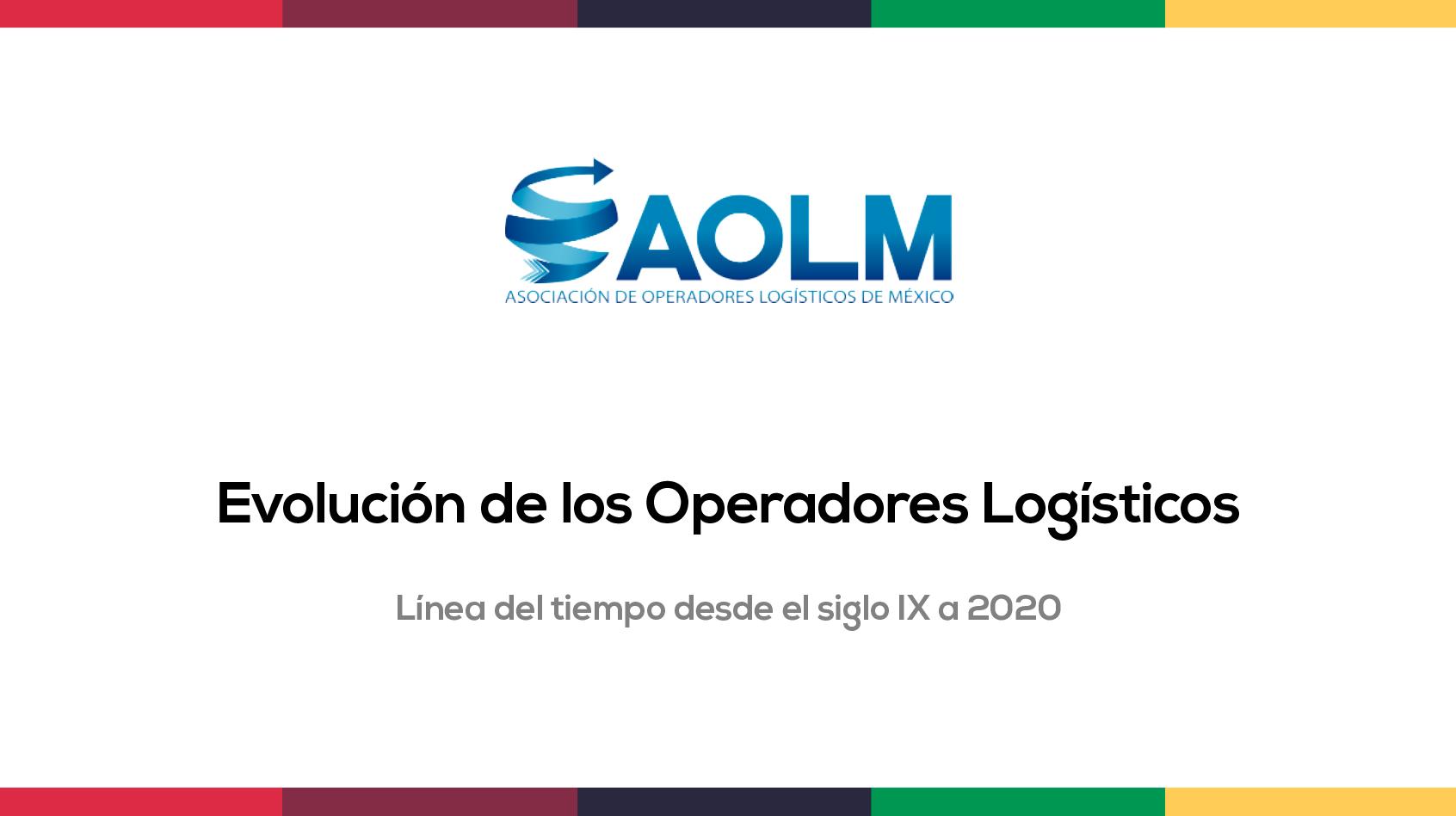 Línea del tiempo de los Operadores logísticos