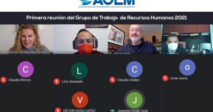 Grupo de trabajo RH AOLM